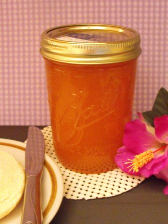 Home Canned Peach Jam