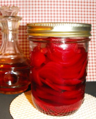 Home Canned Pickled Beets